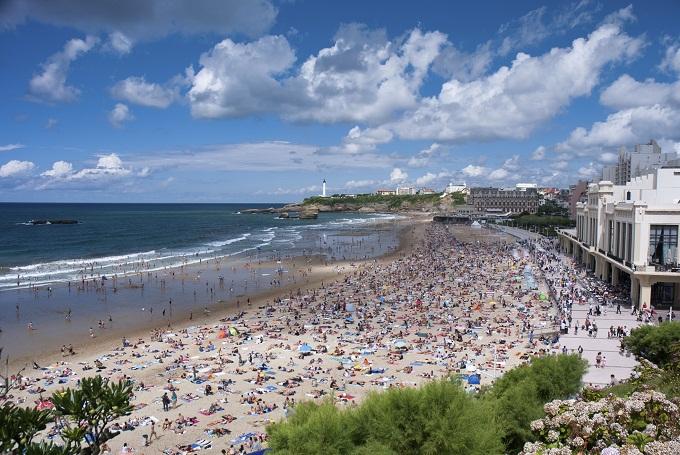Biarritz i Frankrike