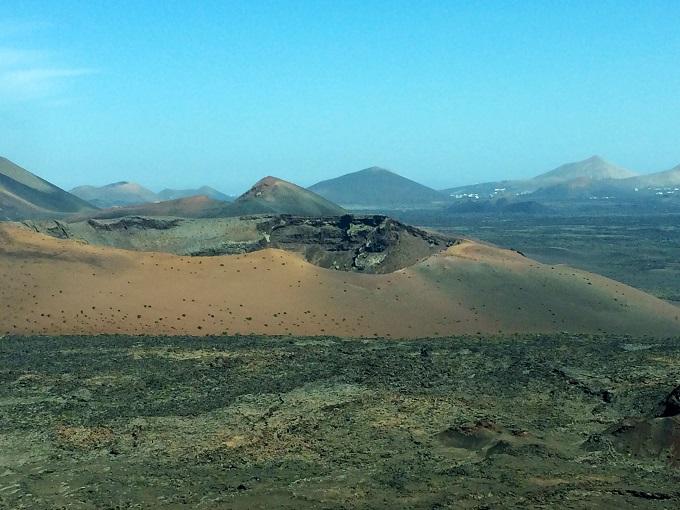 Timanfaya nasjonalpark på Lanzarote