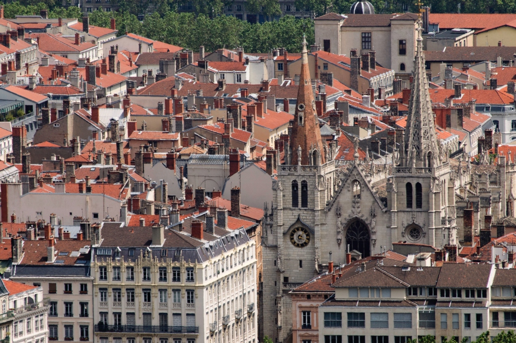 Gamlebyen i Lyon