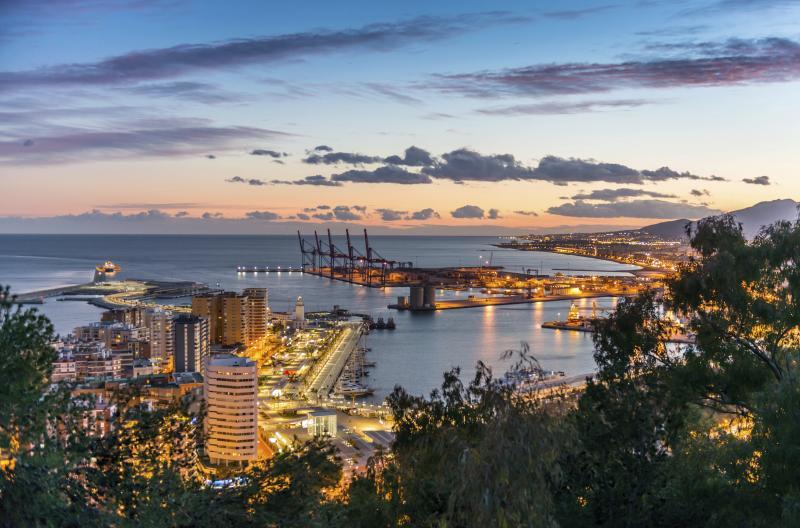 Málaga havn