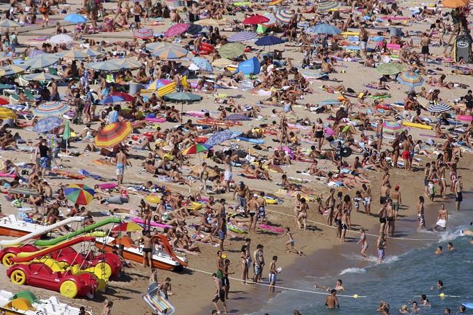 Lloret de Mar i Spania